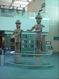 Vancouver Airport Haida Statues